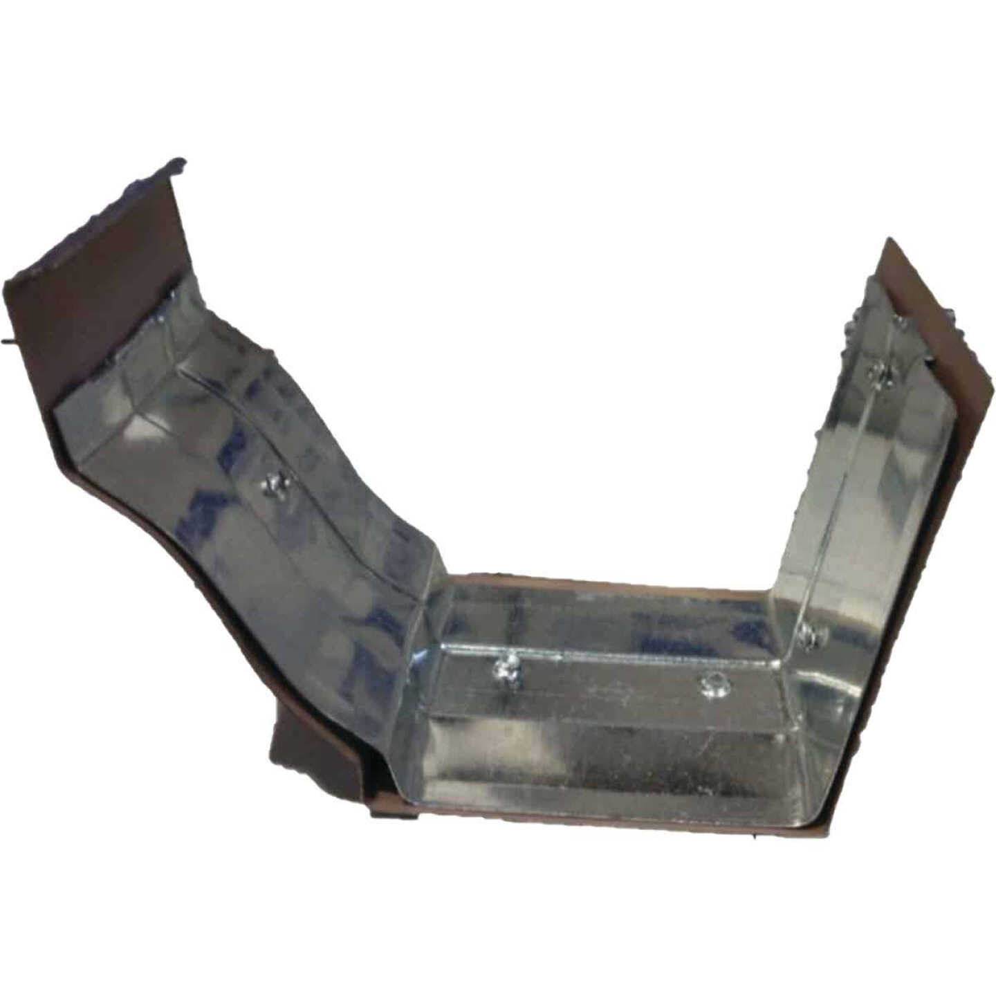 NorWesco 4 In. Galvanized Brown Slip-Joint Gutter Connector Image 2
