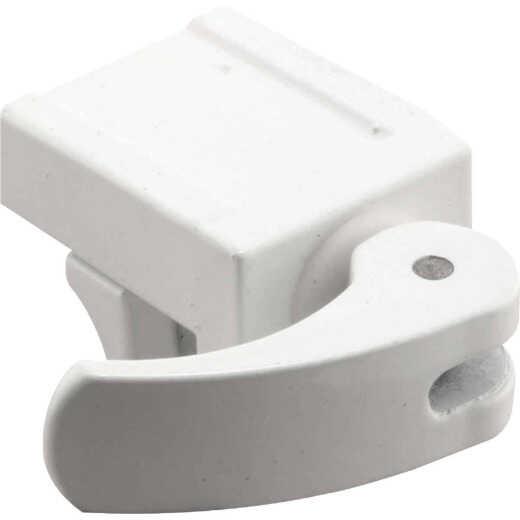 Defender Security White Vinyl Sash Lock (2-Pack)